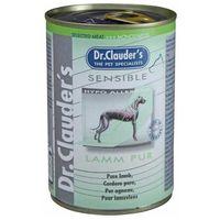 Dr.Clauder's Dog Selected Meat Sensible szín bárányhúsos konzerv