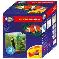 Aqua Nova Nano akvárium szettek ledvilágítással