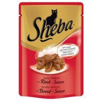Sheba marhahúsos macskaeledel alutasakban