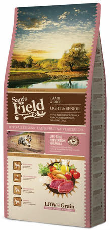Sam's Field Light & Senior Lamb & Rice