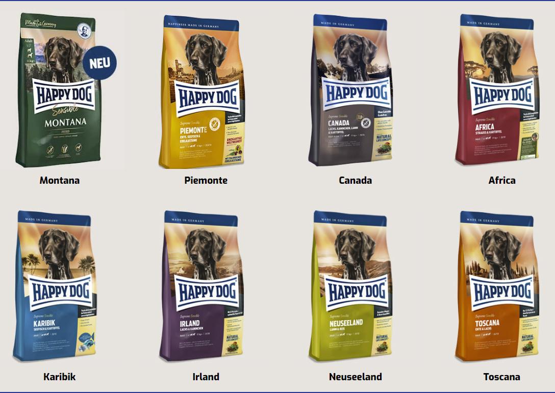 Happy Dog Supreme Sensible kutyatápok
