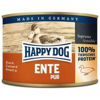 Happy Dog Ente Pur - Tiszta kacsahúsos konzerv | Egyetlen fehérjeforrás