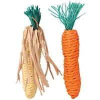 Trixie kukorica és répa formájú fogkoptatók rágcsálóknak