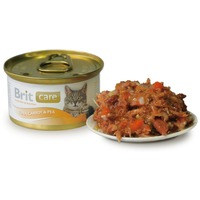 Brit Care Cat Tuna, Carrot & Pea konzerv