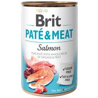 Brit Care Paté & Meat Salmon konzerv kutyáknak - Pástétom egész lazacdarabokkal