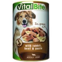 VitalBite nyulas és marhás konzerv