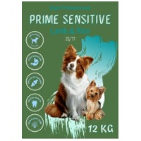 Delikan Prime Sensitive Lamb & Rice hipoallergén kutyatáp érzékeny emésztésű kedvenceknek