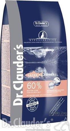 Dr.Clauder's Best Choice Adult HypoSensitive Salmon & Potato | Lazacos és krumplis táp | Felnőtt kutyáknak