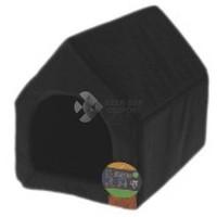 Fekete kutyaház vízlepergető cordura szövetből