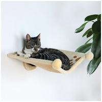 Trixie falra szerelhető plüss borítású macskaágy