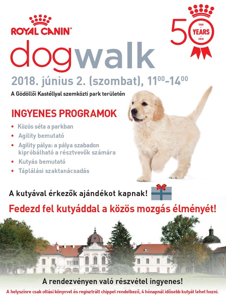 Royal Canin DogWalk Gödöllőn