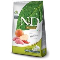 N&D Dog Adult Medium/Maxi Boar & Apple Grain Free   Vaddisznóhúsos és almás kutyaeledel   Gabonamentes