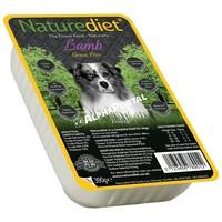 Naturediet Grain-Free műanyag tálkás bárányhúsos kutyaeledel