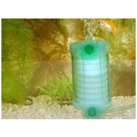Műanyag poharas bordázott szivacsszűrő tapadókoronggal