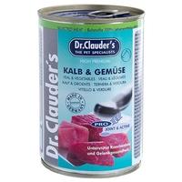 Dr.Clauder's Dog Selected Meat borjúhúsos és zöldséges konzerv
