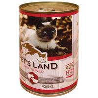 Pet's Land Cat konzerv marhamájjal, bárányhússal és almával