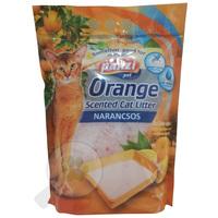 Panzi narancs illatú szilikonos macskaalom