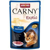 Animonda Carny Exotic gyöngytyúkos eledel macskáknak alutasakban