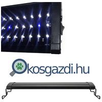 XiLong LED M elegáns fém lámpatest fehér és kék LED izzókkal