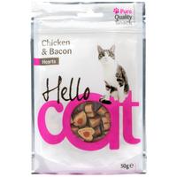 Hello Cat csirkés és baconös jutalomfalatok