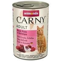 Animonda Carny Adult pulykás, marhás és garnélás konzerv macskáknak