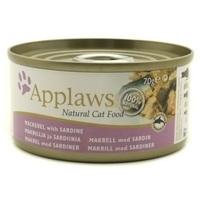 Applaws makrélás és szardíniás konzerv macskáknak