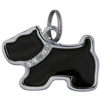 Trixie kutya formájú fém címtartó több színben