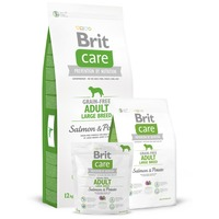 Brit Care Grain-Free Adult Large Breed Salmon & Potato kutyatáp gabonaérzékenységre