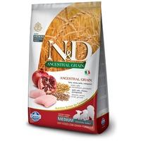 N&D Dog Puppy Medium Chicken & Pomegranate Low Grain | Közepes testméretű kölyökkutyák számára