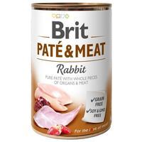 Brit Care Grain Free Paté & Meat Rabbit konzerv kutyáknak - Pástétom egész húsdarabokkal
