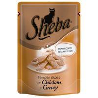 Sheba csirkehúsos macskaeledel alutasakban