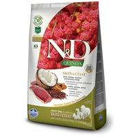 N&D Dog Grain Free Quinoa Skin & Coat Duck – Bőr- és szőrproblémákra | Szuperprémium kutyatáp