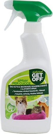 Get Off öko kisállat fekhely és kutyaház szagsemlegesítő és illatosító spray