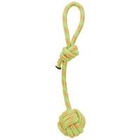Trixie csomózott kötéllabda fogóval kutyáknak pasztell színekben