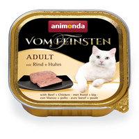 Animonda Vom Feinsten Adult – Marha- és csirkehúsos macskaeledel