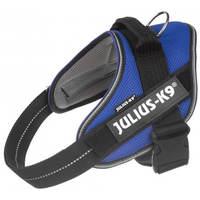 Julius-K9 IDC powAIR légáteresztő, szellőző, nyári hám kutyáknak kék színben