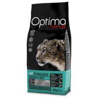 Visán Optimanova Cat Sterilised Chicken & Rice táp ivartalanított macskáknak