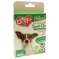 Dolly Natural bolha- és kullancsriasztó spot on kutyák részére – 5 x 1 ml