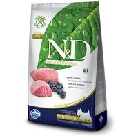 N&D Dog Adult Mini Lamb & Blueberry Grain Free | Bárányhúsos és vörösáfonyás száraztáp kistestű kutyáknak