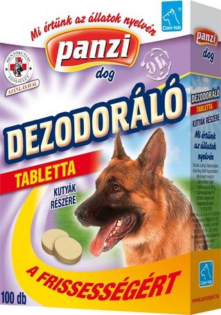 Panzi dezodoráló tabletta kutyáknak a frissességért