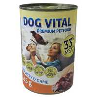 Dog Vital Poultry & Game konzerv