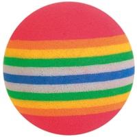 Trixie szivárvány mintás labdák cicáknak (4 db labda / szett)