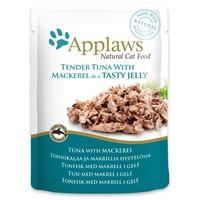 Applaws alutasakos macskaeledel tonhallal és makrélával zselében