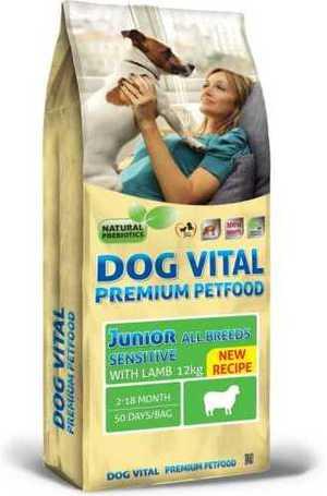 Dog Vital Junior All Breeds Sensitive Lamb | Száraztáp érzékeny emésztésű növendék kutyáknak