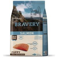 Bravery Dog Puppy Medium/Large Grain Free Salmon | Kutyatáp Spanyolországból közepes és nagy termetű kölyök és növendék kutyáknak | Gabonamentes
