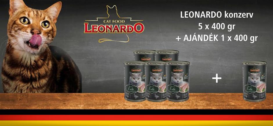 Leoanrdo akció