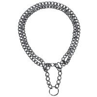 Trixie 2 soros kombinált fojtó fém nyakörv