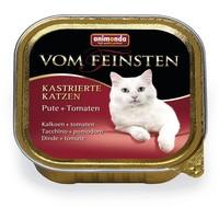 Animonda Vom Feinsten ivartalanított macskáknak – Pulykahúsos és paradicsomos eledel