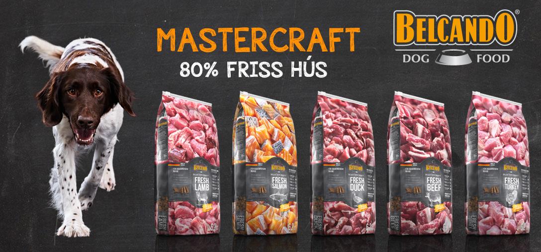 Belcando Mastercraft kutyatápok öt ízben
