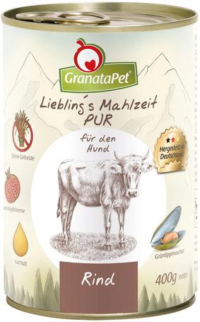 GranataPet tiszta marhahúsos konzerv kutyáknak